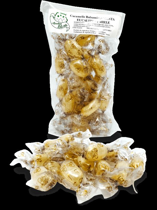 caramelle balsamiche alla menta eucalipto e miele